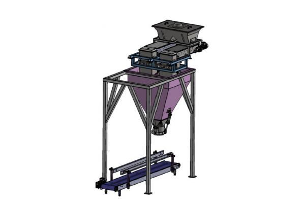 DM801 - Konveyör Beslemeli Çuval Dolum Makinası